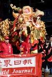Dragão na celebração chinesa Foto de Stock Royalty Free
