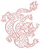 Dragão oriental Ilustração Stock