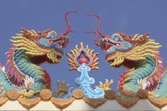 Dragão principal Imagem de Stock Royalty Free