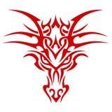 Dragão principal Ilustração Royalty Free