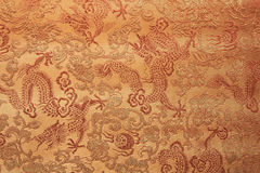 Dragão projetado na tela fotografia de stock