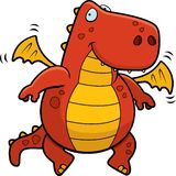 Dragão vermelho Foto de Stock Royalty Free