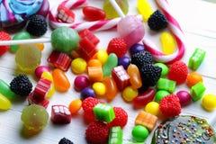 Dragée à la gelée de sucre douce de sucrerie photo libre de droits