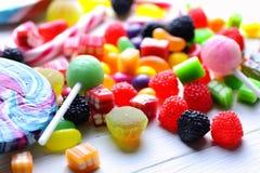 Dragée à la gelée de sucre douce de sucrerie photographie stock libre de droits