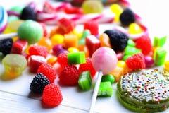 Dragée à la gelée de sucre douce de sucrerie images libres de droits