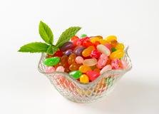 Dragées à la gelée de sucre photos stock