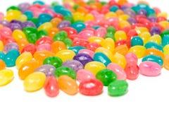 Dragées à la gelée de sucre brillamment colorées photos libres de droits