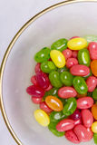 Dragées à la gelée de sucre colorées Photo stock