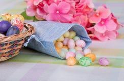 Dragées à la gelée de sucre de Pâques photos libres de droits
