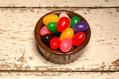 Dragées à la gelée de sucre de Pâques images libres de droits