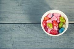 Dragées colorées Image stock