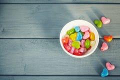 Dragées colorées Photos libres de droits