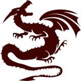 Dragón stock de ilustración