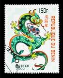 Dragón, Año Nuevo chino - año del serie del dragón, circa 2000 Fotografía de archivo libre de regalías