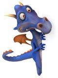 Dragón azul Imágenes de archivo libres de regalías