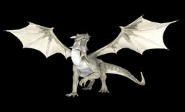Dragón blanco Fotos de archivo libres de regalías