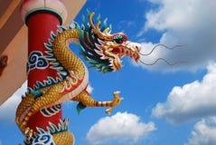 Dragón chino foto de archivo