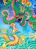 Dragón chino Fotografía de archivo libre de regalías