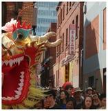 Dragón chino del Año Nuevo Fotografía de archivo libre de regalías