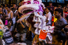 Dragón chino en blanco Fotografía de archivo libre de regalías