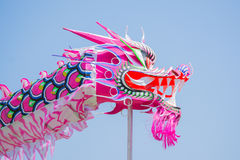 Dragón chino en el festival de Norooz y el desfile persa Fotografía de archivo libre de regalías