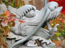 Dragón chino verdadero Fotos de archivo libres de regalías