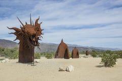 Dragón de Borrego Springs foto de archivo libre de regalías