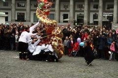 Dragón de China Fotografía de archivo libre de regalías