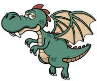 Dragón de la historieta stock de ilustración