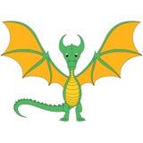 Dragón de la historieta Foto de archivo