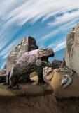 Dragón de la roca Fotografía de archivo libre de regalías