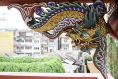Dragón de oro Fotografía de archivo