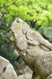 Dragón de piedra Foto de archivo