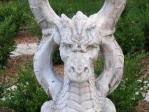 Dragón de piedra imagenes de archivo