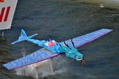 Dragón de vuelo imágenes de archivo libres de regalías