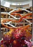 Dragón Deco en el complejo de compras Imágenes de archivo libres de regalías