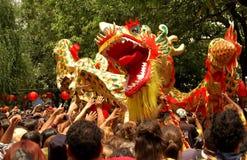 Dragón del Año Nuevo Foto de archivo