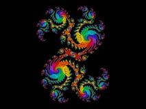 Dragón del arco iris Foto de archivo libre de regalías