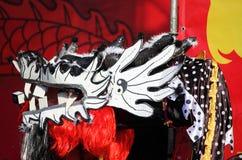 Dragón del baile Fotografía de archivo libre de regalías