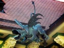 Dragón del canal Fotografía de archivo
