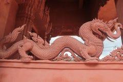 Dragón del elefante Imágenes de archivo libres de regalías