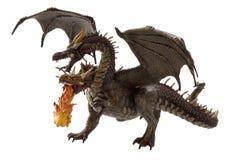 Dragón del fuego de la mosca Imagen de archivo
