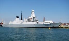 Dragón del HMS (D35) Imagenes de archivo