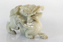 Dragón del jade Imágenes de archivo libres de regalías