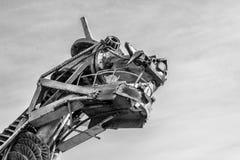 Dragón del metal de los desperdicios Imagenes de archivo