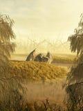 Dragón del pantano Imagenes de archivo