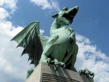 Dragón del puente Fotografía de archivo