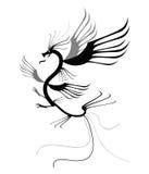 Dragón del tatuaje Foto de archivo