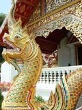 Dragón del templo Foto de archivo libre de regalías