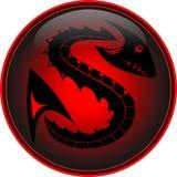 Dragón del vector Imagen de archivo libre de regalías